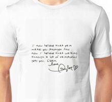 Taylor Swift 1989 Tour Clean Speech Unisex T-Shirt