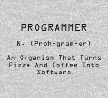 Programmer Black Kids Tee