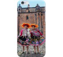 Peruvian Women With Lamb iPhone Case/Skin
