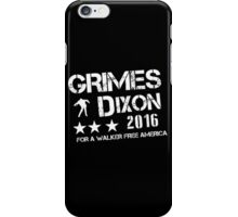 gimes dixon wall iPhone Case/Skin