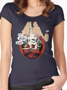 Show me da Tacos! Women's Fitted Scoop T-Shirt