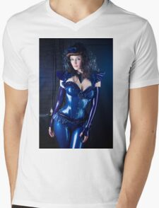 Lovely Latex Mens V-Neck T-Shirt