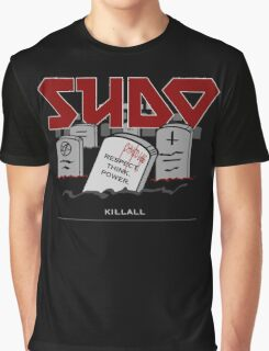 SUDO - Heavy Metal Sysadmin Graphic T-Shirt