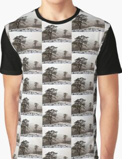 Snow Scene on Glencoe #2 Graphic T-Shirt