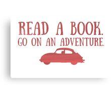Read a Book Canvas Print