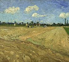 Vincent Van Gogh - Ploughed Fields (The Furrows) by lifetree