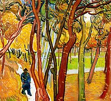 Vincent Van Gogh - The Fall of the Leaves by lifetree
