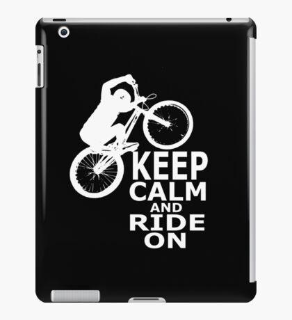 Mountain Bikes iPad Case/Skin