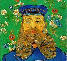 Vincent Van Gogh - Portrait of Joseph Roulin by lifetree