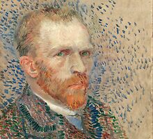 Vincent Van Gogh - Self Portrait by lifetree