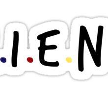 Friends TV Show Logo Sticker