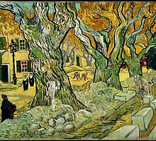 Vincent Van Gogh - The Road Menders by lifetree