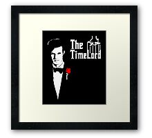The Time Lord Godfather Framed Print