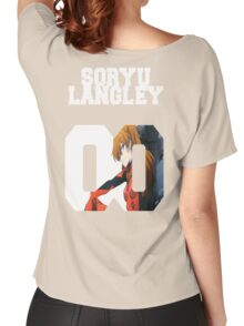 Evangelion Asuka Soryu Langley  Women's Relaxed Fit T-Shirt