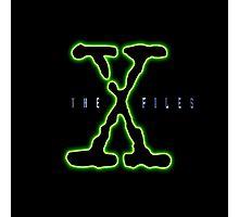 X Files Photographic Print