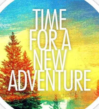 New Adventure 2.0 Sticker