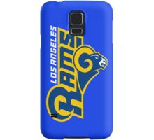 LOS ANGELES RAMS BLUE  Samsung Galaxy Case/Skin