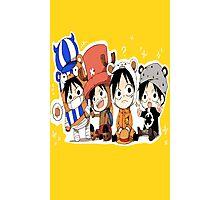 One Piece Luffy Chibi Photographic Print