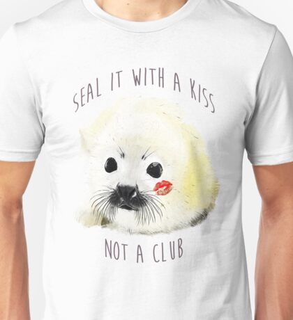 seal it with a kiss Unisex T-Shirt