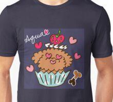 Aqua the Poodle ! - Navy Blue Unisex T-Shirt