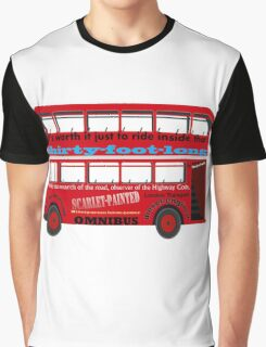 A Transport of Delight - Omnibus song! Graphic T-Shirt