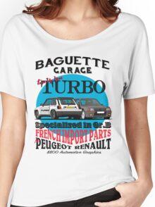 Baguette Garage Women's Relaxed Fit T-Shirt