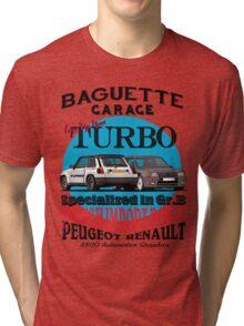 Baguette Garage Tri-blend T-Shirt