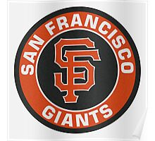 San Francisco Giants logo Poster