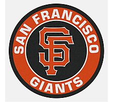 San Francisco Giants logo Photographic Print