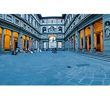 Courtyard Pano Photographic Print