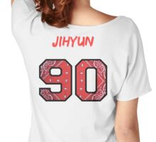 4Minute - Hate / 싫어 Jihyun Member Jersey Women's Relaxed Fit T-Shirt