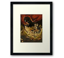 In the Dragon's Lair Framed Print