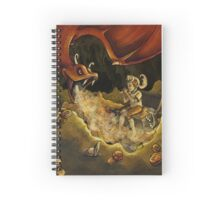 In the Dragon's Lair Spiral Notebook