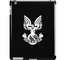 U.N.S.C.D.F. Insignia (White Logo) iPad Case/Skin