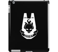 We Are ODST (White Logo) iPad Case/Skin