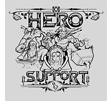 Hero Support Photographic Print