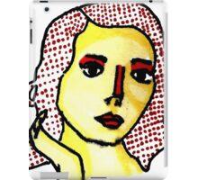 Woman #7 iPad Case/Skin
