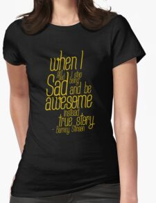 barney stinson Womens Fitted T-Shirt