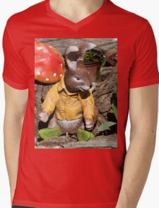 Funny easter bunny Mens V-Neck T-Shirt
