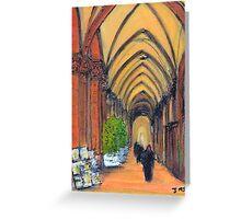Bologna Portico Greeting Card