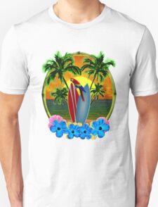 Tropical Sunset Unisex T-Shirt