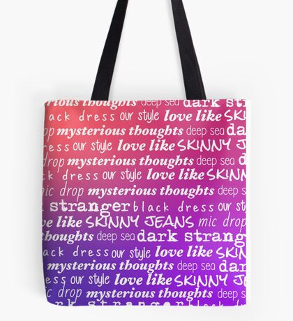 Teen Aesthetic, Warm Gradient Tote Bag