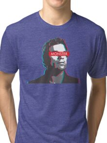 Dexter: MONSTER 3D  Tri-blend T-Shirt