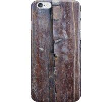 a rusty metal iPhone Case/Skin