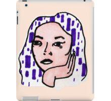Woman #8 iPad Case/Skin