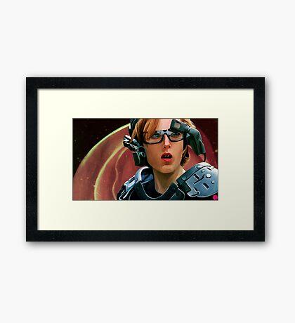Scully II Framed Print