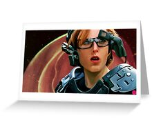 Scully II Greeting Card