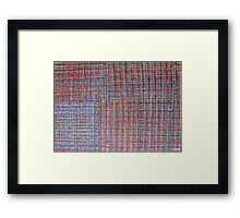 ABSTRACT 453 Framed Print