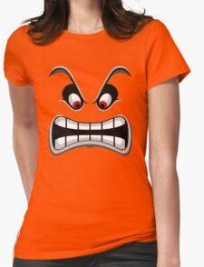 Thwomp face ! Womens Fitted T-Shirt