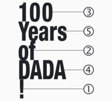 100 Years of DADA Kids Tee